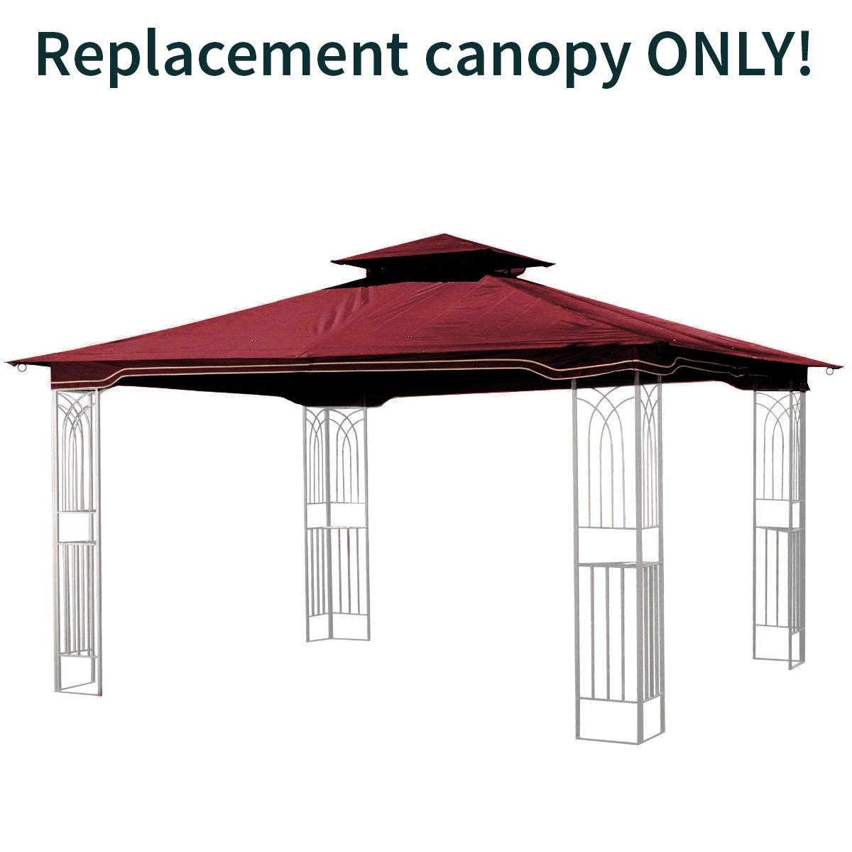 Get Quotations · Sunjoy Replacement Gazebo Canopy for 10 x 12 Regency II Patio Gazebo Maroon  sc 1 st  Alibaba.com & Cheap 12x12 Patio Gazebo find 12x12 Patio Gazebo deals on line at ...
