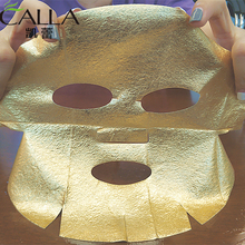 OEM 24k Facial Skin Care Gold Foil Paper Face Mask