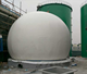 Veniceton 15m3 Portable Assembly Biogas Plant for Cow Dung Treatment