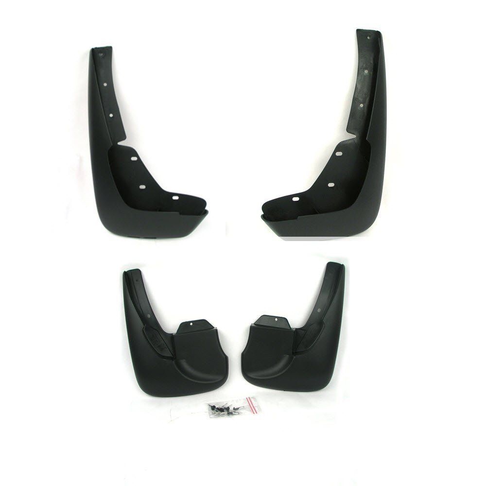 Volvo S70 Mud Flap Kit Front & Rear with hardware. Genuine Volvo