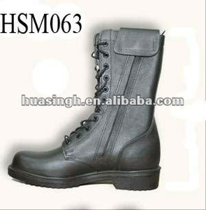 high tops leather waterproof italy hot sale army hunting boots