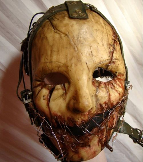 Modieuze Custom halloween horror masker