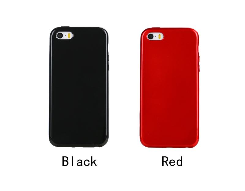 2017 LZB New Arrival Luxury Soft Glossy Piano Color TPU cover case for Iphone5/5S/SE