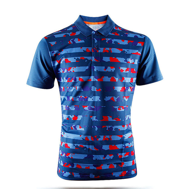 custom tee shirts sublimated printing 100% polyester mesh fabric polo t shirts(A929)