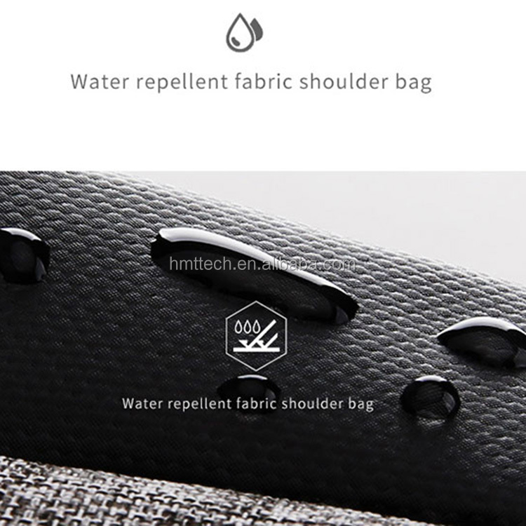 2018 Newest Antitheft Water-Resistant Crossbody Messenger Bag,Sling Chest Bag With USB Charging Port