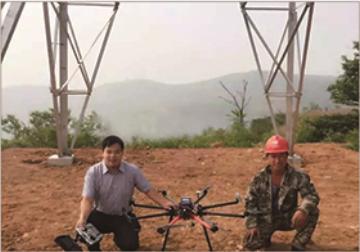 Eight Rotors Power Stringing UAV UE8X Series