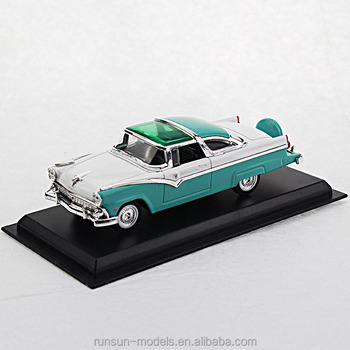 1/43 schaal gegoten FORD CROWN VICTORIA-1955 classic model cars