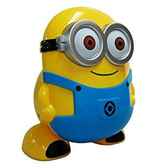 Energy Saving LED Foldable Desk Lamp Cute Minion Desk Lamp for Home, Office, Childs, Girls, Teens -Fashion Design/ Eye Protection/ Energy/ Saving