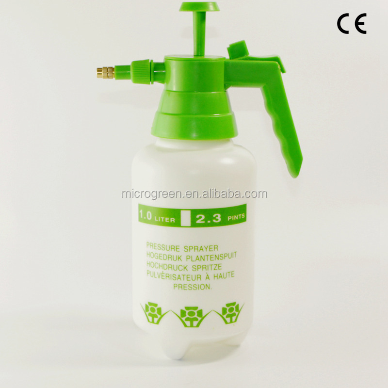 Agricultural Water Spray Bottle Hand Pump 1Litre Plastic Garden Sprayer