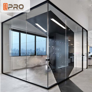 Modern Design Frameless Glass Office Partition/movable Office Partition  Cheap Price