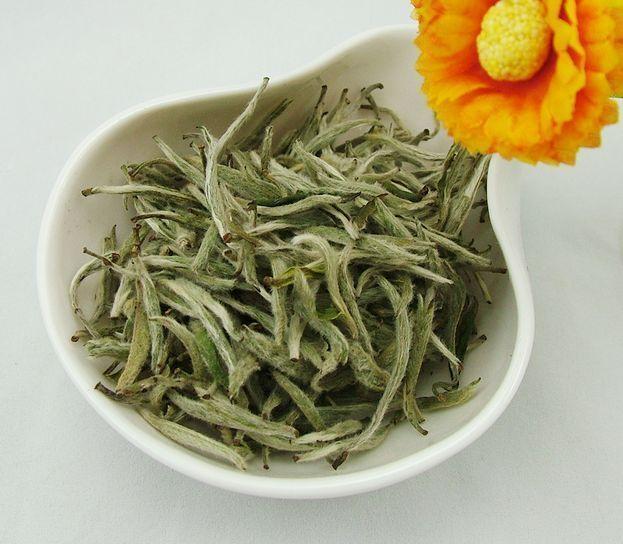 Chinese White Tea Silver Needle Loose Tea Detox Tea for Losing Weight - 4uTea   4uTea.com