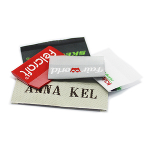 Satin Durable Center Fold Custom Clothing Label