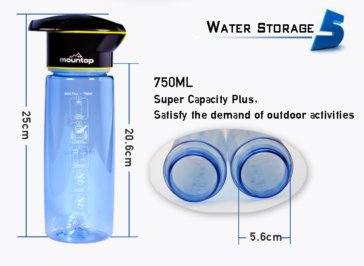 New electric water bottle cooler,sterilizer bike bottle,plastic sports bottle