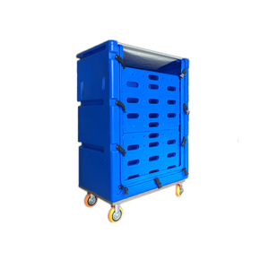 linens collecting anf distributing used high-quality hotel laundry cage trolley with custom design service,trade assurance