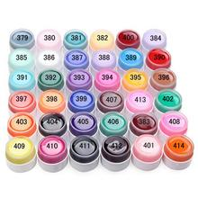 Hot Selling Popular Pure Colors Gel Nail Polish UV Nail Art DIY Decoration for Nail Manicure 36 Pots color Fast Delivery