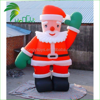 2016 Cheap Inflatable Surfing Santa Claus Lowes Outdoor Christmas  Decorations,Inflatable Christmas Products For Decoration
