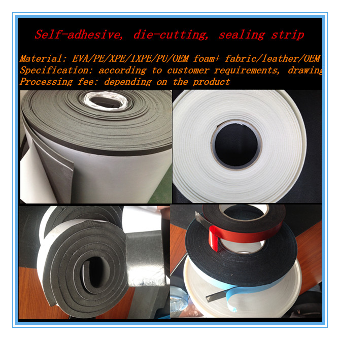 polyethylene foam sheet/roll 0.5MM-100MM polyethylene foam adhesive
