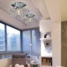 Mini crystal chandelier luxury modern crystal ceiling lamp LED light room lounge room special