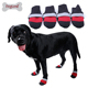 Soft Outdoor Dog Boots Air Mesh Breathable Reflecting Anti Slip Sole Pet Shoes