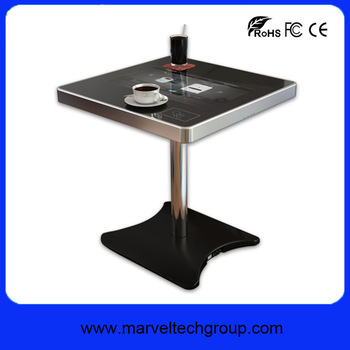 New 2016 product 21inch multitouch lcd interactive bar table coffee table side table