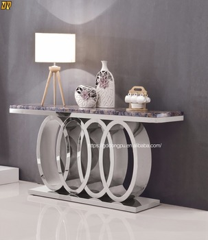 Incroyable Audi Symbol Furniture Hobby Lobby Metal Marble Console Table Glass  Wholesale  X10