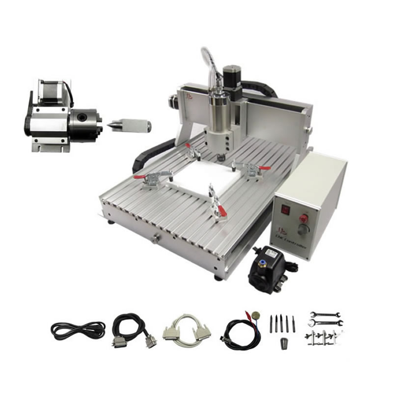 <strong>CNC</strong> 6040 2.2KW USB port 4 axis router <strong>cnc</strong> metal cutting machine