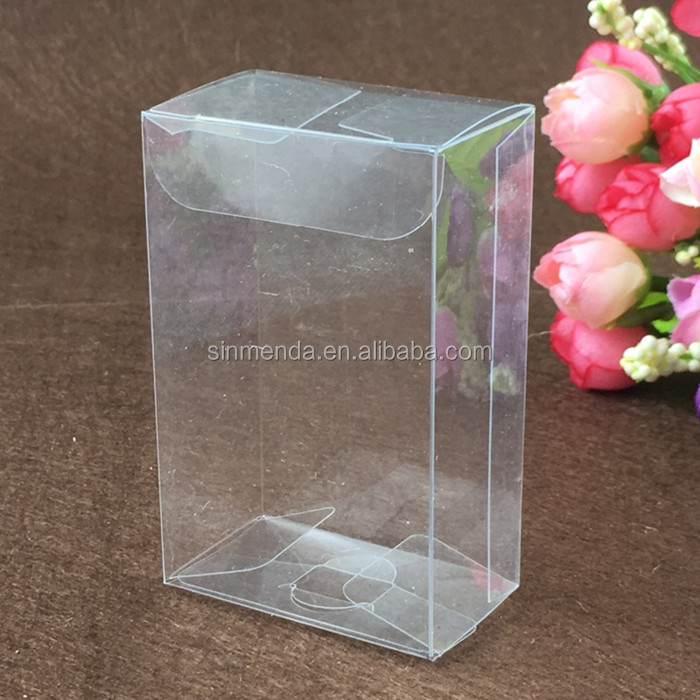 Custom Clear PVC Large packaging box, transparent acetate box packing