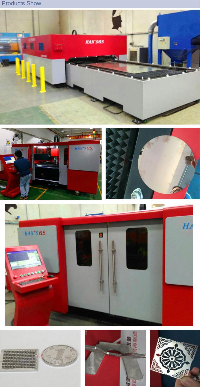 2000w Metal fiber laser cutting machines with Switzerland Laser Cutting