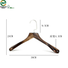 Wholesale deluxe suit hanger wedding dress wooden hanger