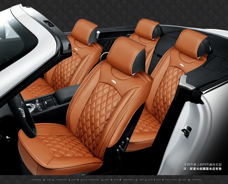 For Mazda 2 3 6 Cx 5 Cx 9 Cx 7 Black Brown Red Brand Luxury Car Soft Leather Seat Cover Front Rear Complete Set Car Seat Covers Leather Seat Covers Car Seat Coverseat Cover Aliexpress