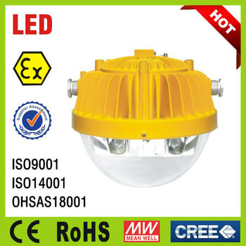 ATEX IP66 approved LED Explosion Proof platform light LED Explosion Proof Lamp