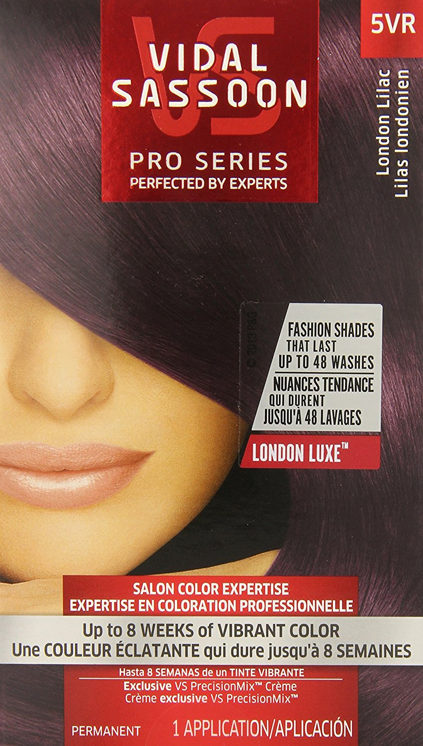 Buy Vidal Sassoon London Luxe 5vr London Lilac 1 Kit In Cheap Price
