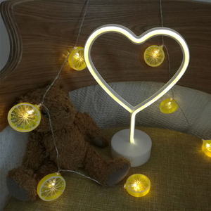 new style heart neon for party