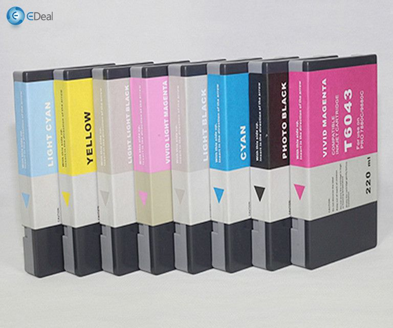 220 ML * 8 warna kompatibel cartridge tinta kompatibel untuk Epson 9450 printer inkjet cartridge