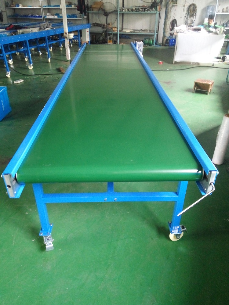 Heavy duty thick PVC/PU belt conveyor with high quality