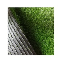 Artificial football turf grass no rubber no sand synthetic lawn
