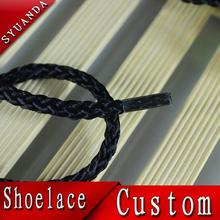 Jieli custom regular logo tips yeezy twisted rope shoe laces for 350 shoes