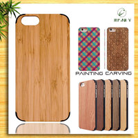 For wood iphone accessory/wooden case for iphone 6plus/Best quality for wood iphone 6s case/hots item/