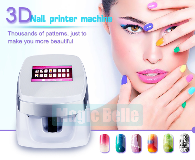 2018 Top Selling Products Nail Art Printer Easy Printing Pattern ...