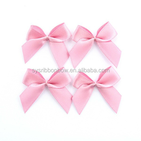 Wholesale Small Lingerie Pink Satin Ribbon Bows For Bra - Buy ... 9305604a867