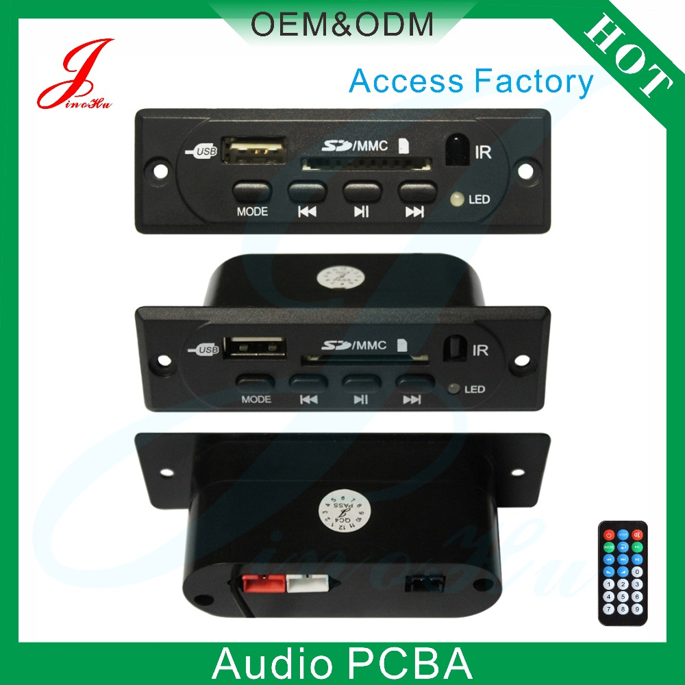 USB /SD mp3 decoder with fm radio for car audio
