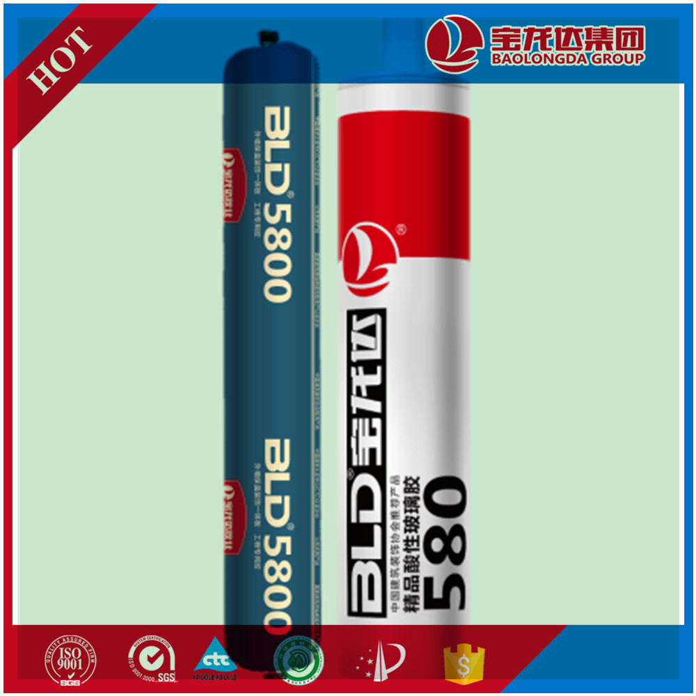 High Displacement Weatherability acid silicone sealant