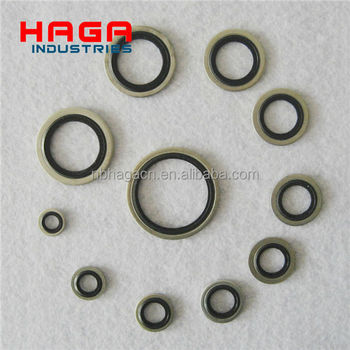 Metric Bsp Self Centering Bonded Washers Hydraulic Bonded Seal ...