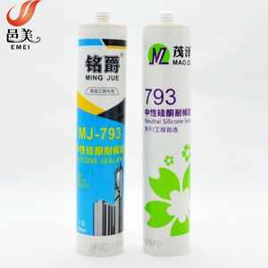 300ML neutral 793 silicone sealant for metal sealing