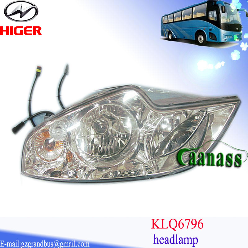 Klq6796 Yutong Kinglong Golden Dragon China Auto Headlight Higer ...