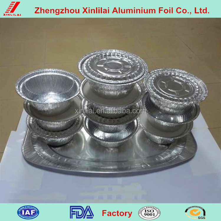 heart-shaped disposable aluminium foil food containers