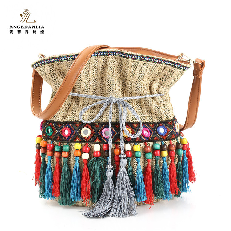 Vintage Banjara/ Leather Suede/ Embroidery / Handmade Bag /Boho Chic / <strong>Tote</strong> / Ethnic / Tribal / Gypsy