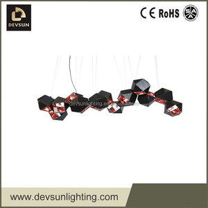 Modern electric lights and lightings puzzle lamp DP15270