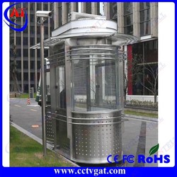 Security retractable safety parking guard house cabin&security guard houses &security post