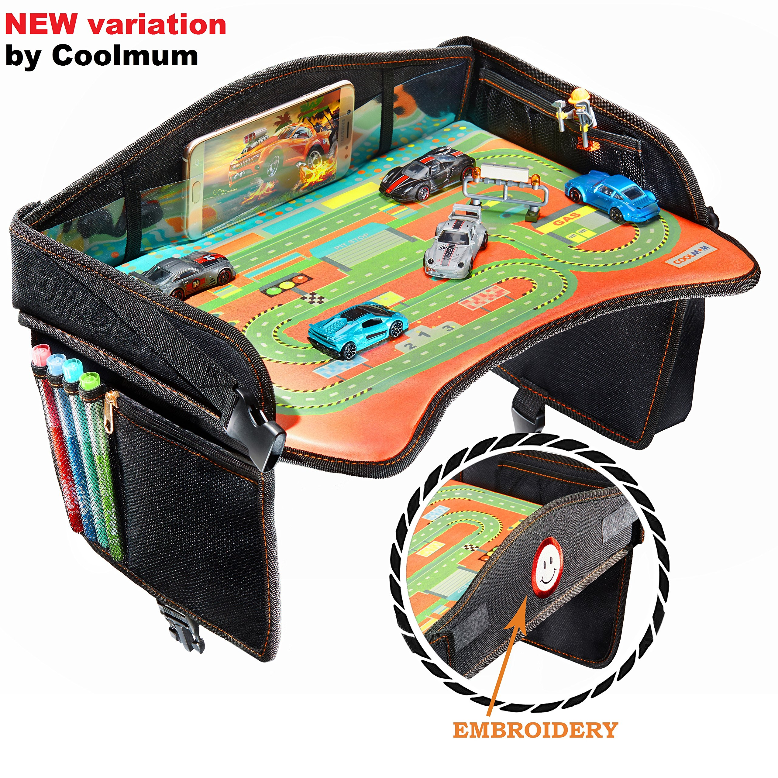 Get Quotations Coolmum Black Travel Tray Ideal As Kids Toddler Baby